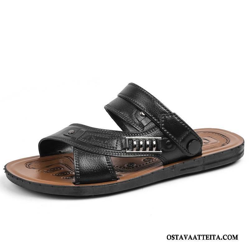 Sandaalit Miesten Suuntaus Rannalle Kuluminen Tossut Liukumaton Kengät