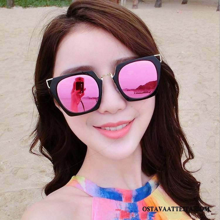 Aurinkolasit Naisten Suuri Neliö Verkko Naisille Uusi Pinkki