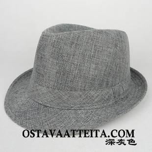 Hattu Miesten Hengittävä Shade Jazz Vanhukset Kesä Kevät