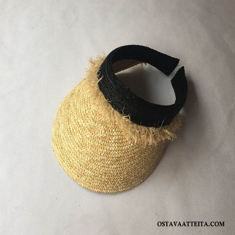 Hattu Naisten Tila Ranta Shade Suuntaus Aurinkohattu Kesä