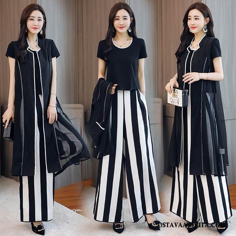 Leninki Naisten Yksinkertainen Polyesteri Vaatteet Musta Tiukka Mukavat