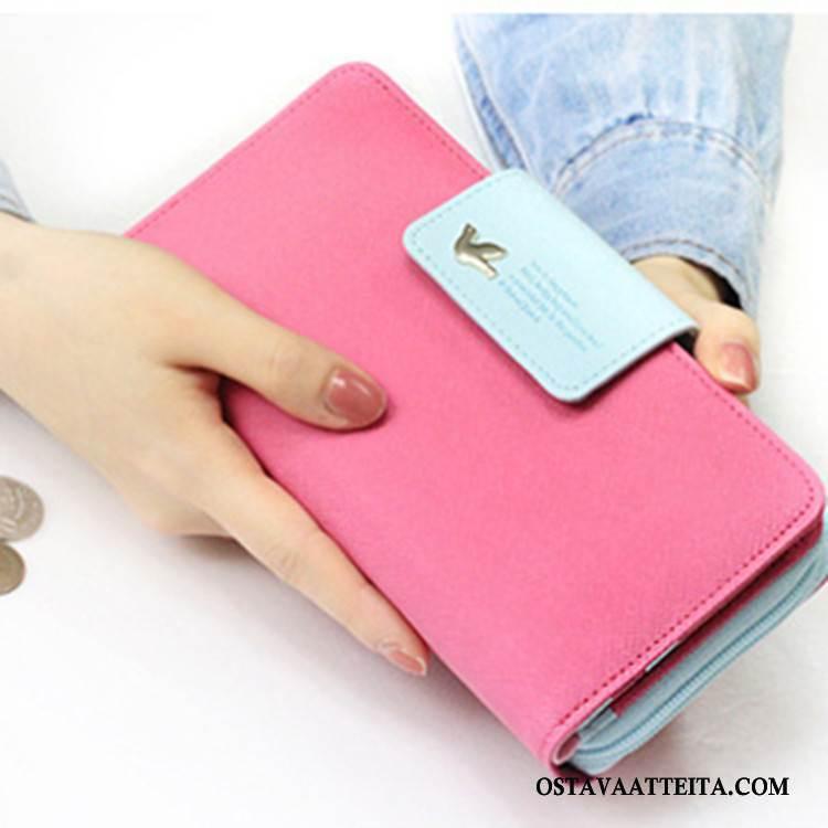 Lompakko Naisten Suuri Kapasiteetti Uusi Pitkä Osa Korttipussi Laukku Naisille