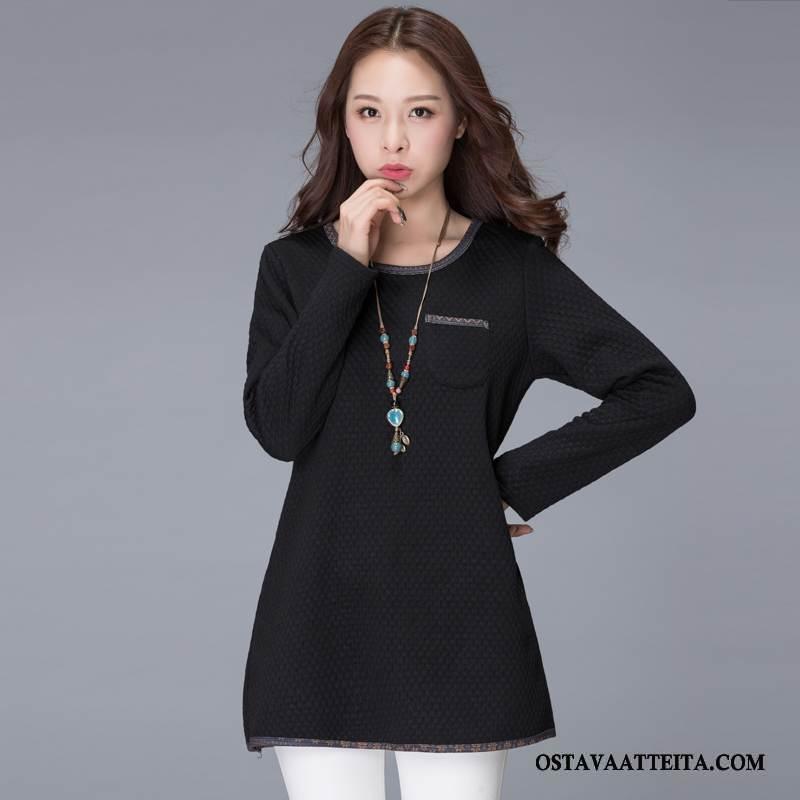 Plus Size Vaatteet Naisten Muoti Kaupunki Tyylikäs Naisille Suuri Koko Ohut