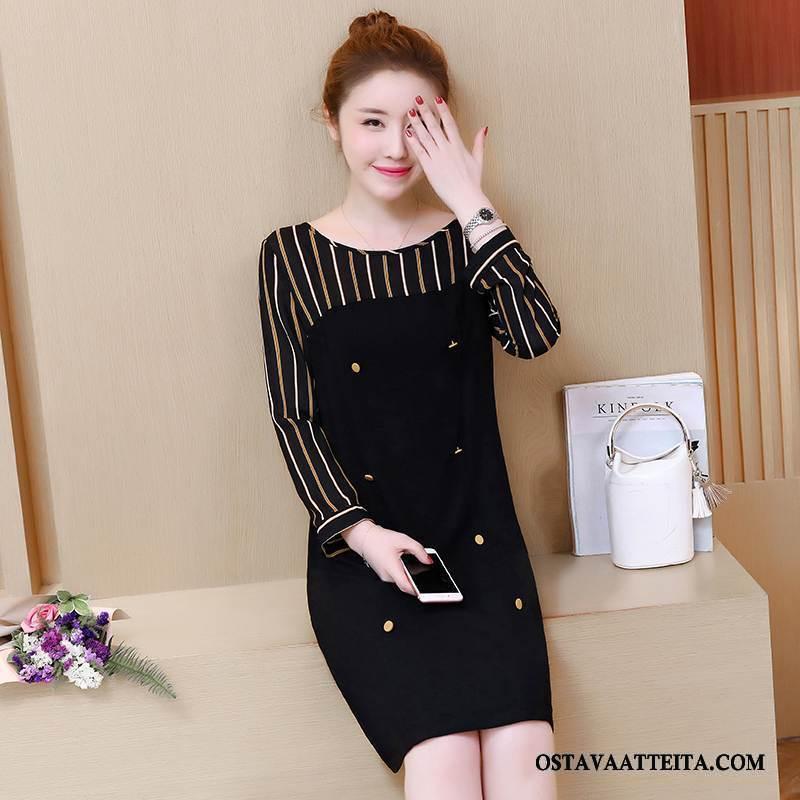 Plus Size Vaatteet Naisten Syksy Suuri Koko Suuntaus Pullover Naisille Musta