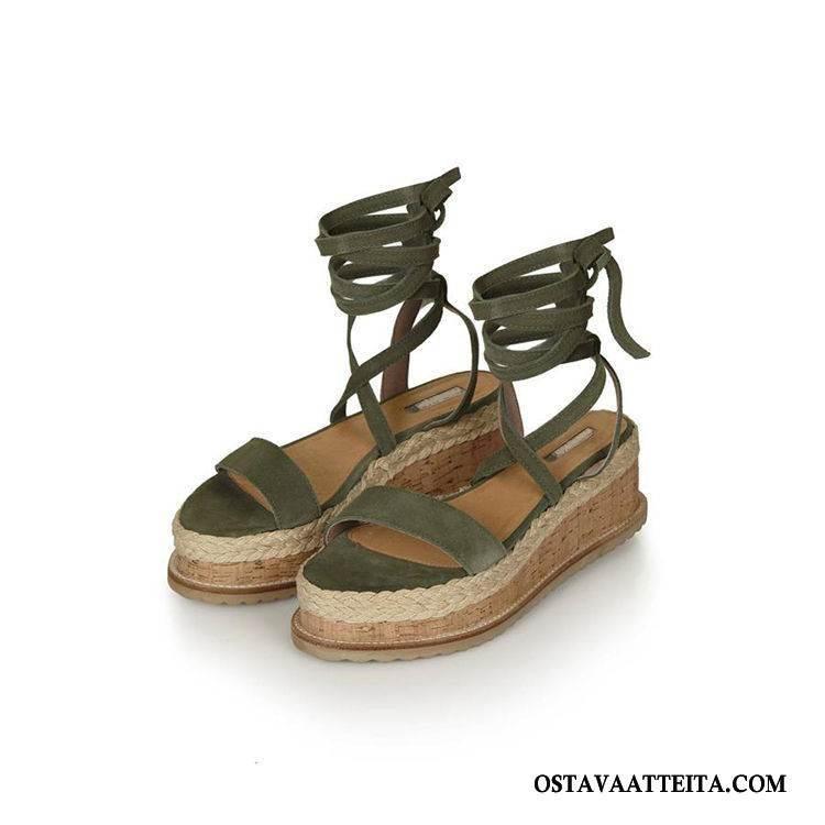Sandaalit Naisten Korokekenkien Suuri Koko Kaikki Ottelut Kesä Naisille Rooma
