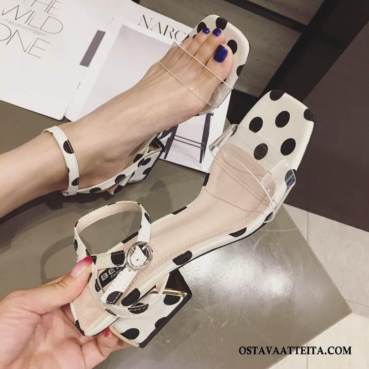 Sandaalit Naisten Paksu Kesä Hyvin Kengät Naisille Rooma