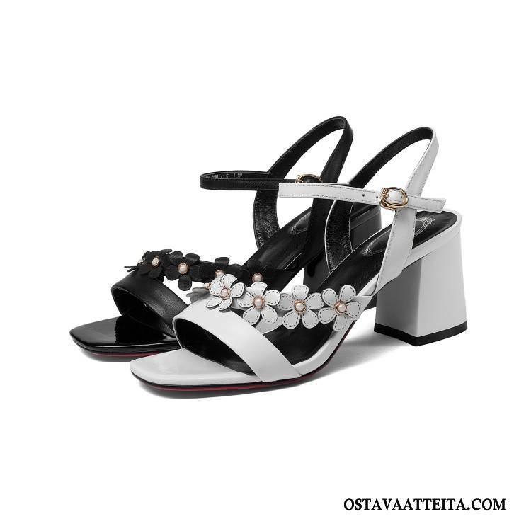 Sandaalit Naisten Rooma Korko Kesä Kengät Kaikki Ottelut Avoin