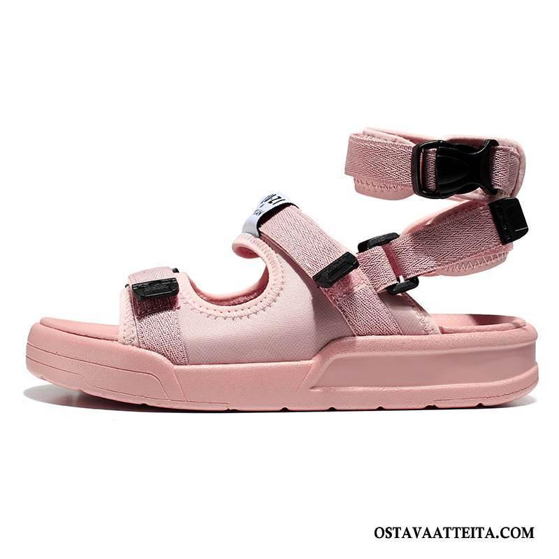 Sandaalit Naisten Tarranauha Tasainen Kesä Kengät Naisille Rannalle