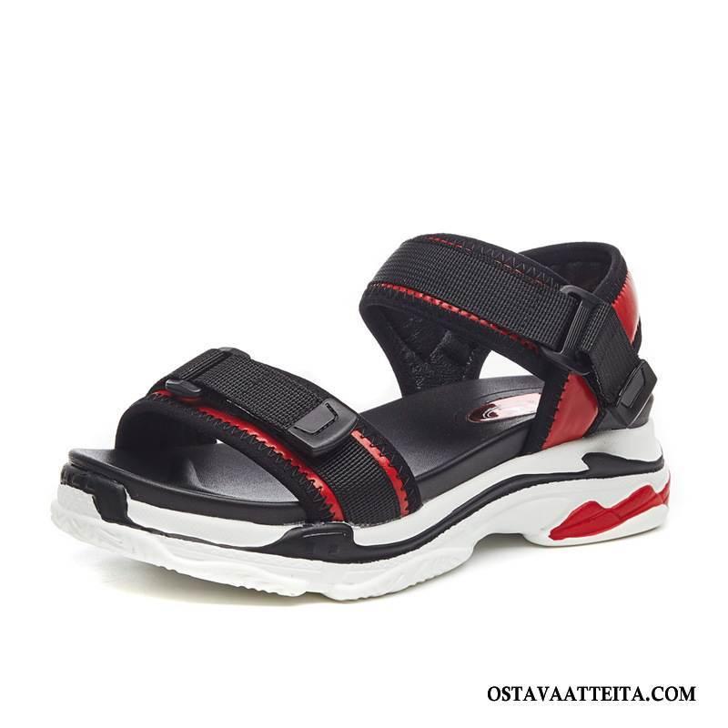 Sandaalit Naisten Urheilu Kaikki Ottelut Tasainen Rento Paksu Pohja Naisille