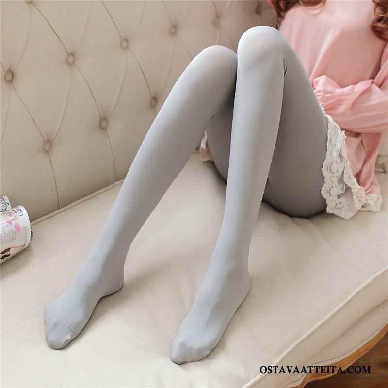 Sukat Naisten Ohut Naisille Sametti Candy Värit Joulu Sukka Leggingsin Sukat