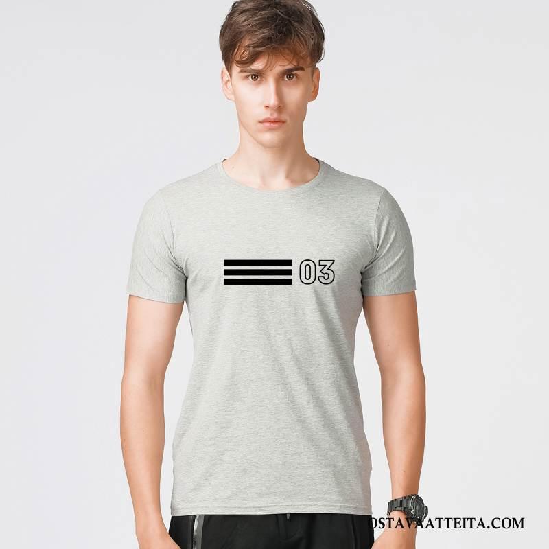 T-paidat Miesten Suuntaus Miehille Kevät Muoti Uusi Kesä