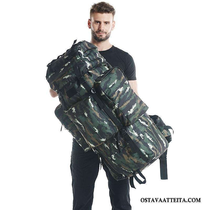 Vaellusreppu Miesten Suuri Kapasiteetti Kävely Naamiointi Laukku Naisille Miehille