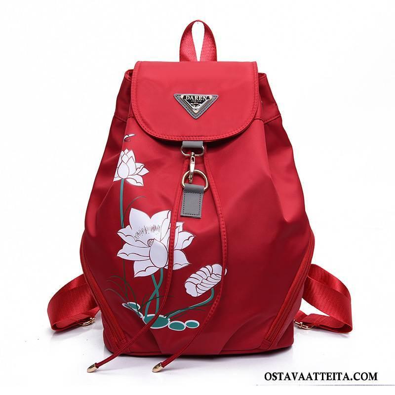 Vaellusreppu Naisten Laukku Uusi Kukka Malli Kudos Matkustaminen